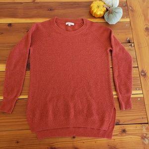 Madewell knit wool crew neck sweater
